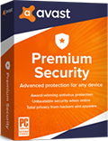 Avast Premium Security box