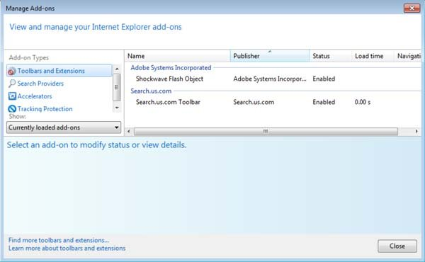 search.us.com dans internet explorer