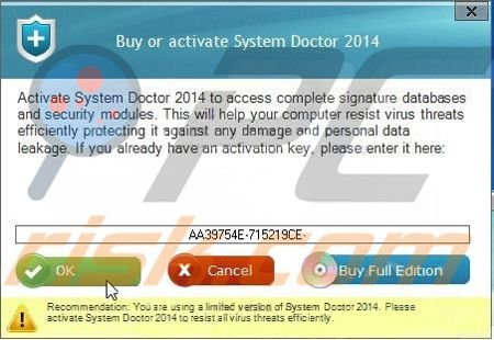 activation System Doctor 2014