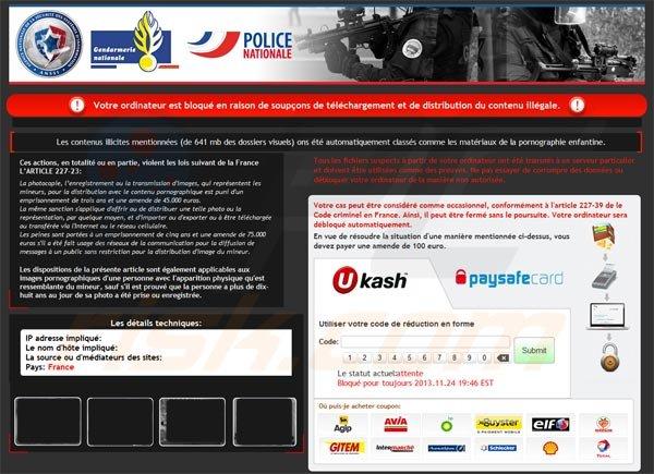 Comment Supprimer Virus Police Nationale Etapes De Suppression Des