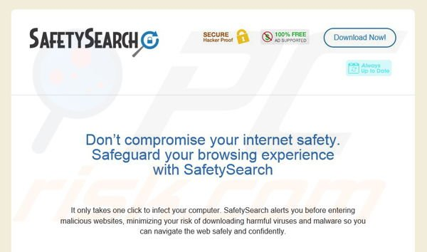 SafetySearch adware