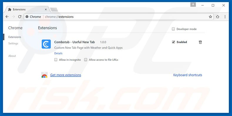 Suppression des extensions reliées à yeadesktop.com dans Google Chrome