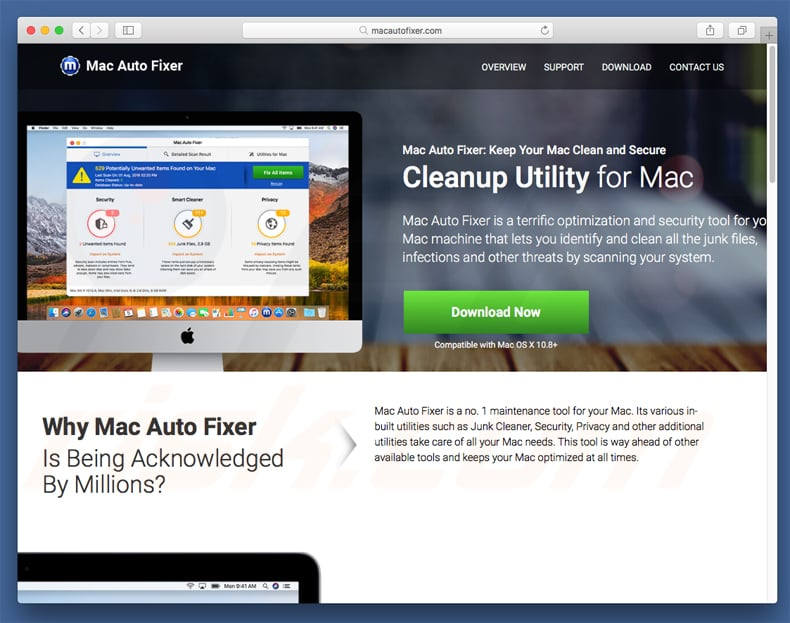 Site officiel de Mac Auto Fixer