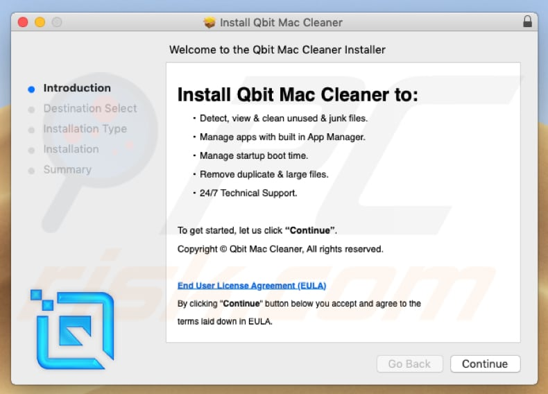 qbit mac cleaner installation setup