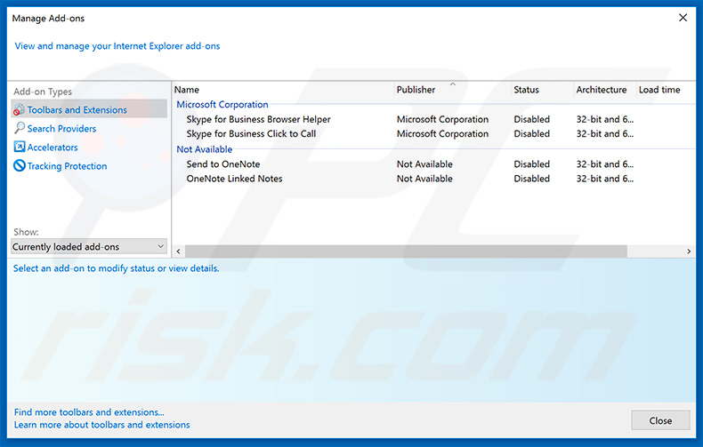 Removing news-easy[.]com ads from Internet Explorer step 2