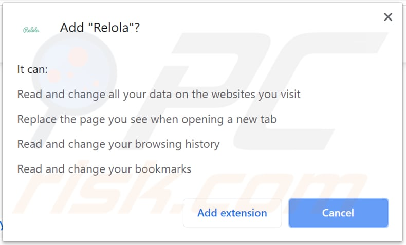 relola wants to read and change data